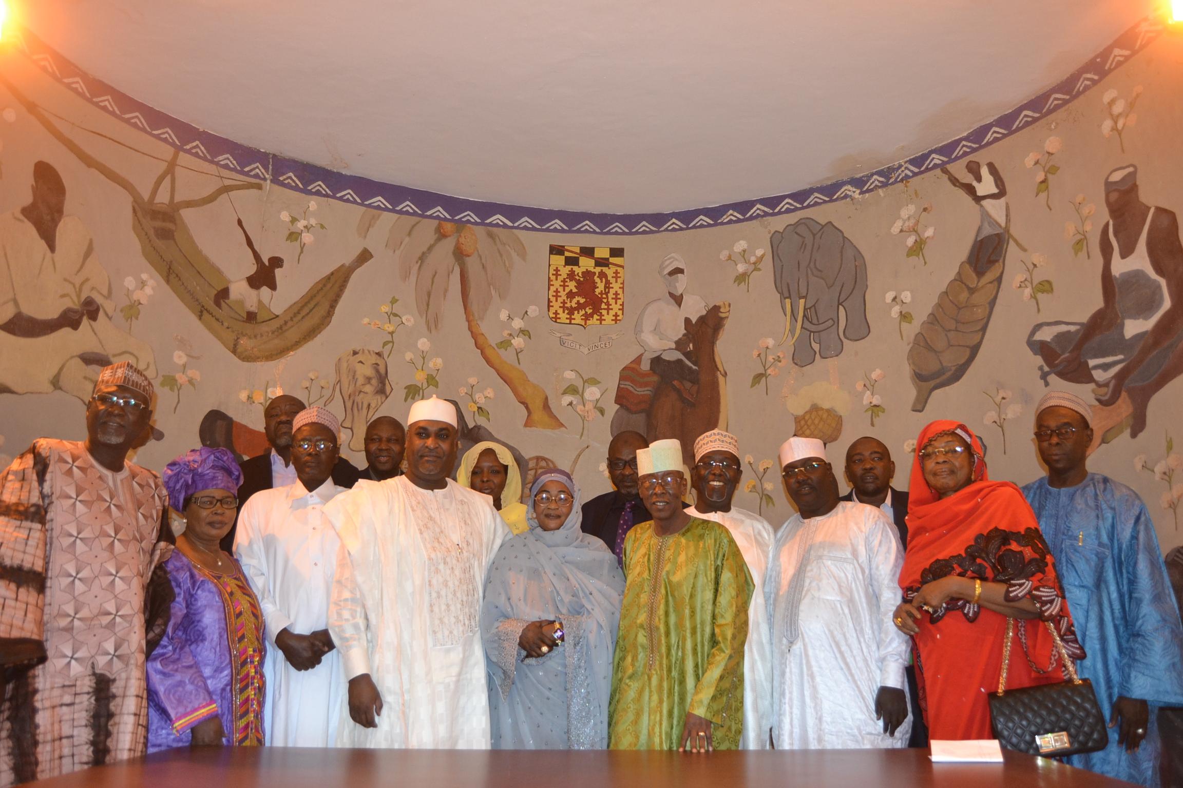 La nouvelle équipe dirigeante de la chambre de commerce du Tchad est installée