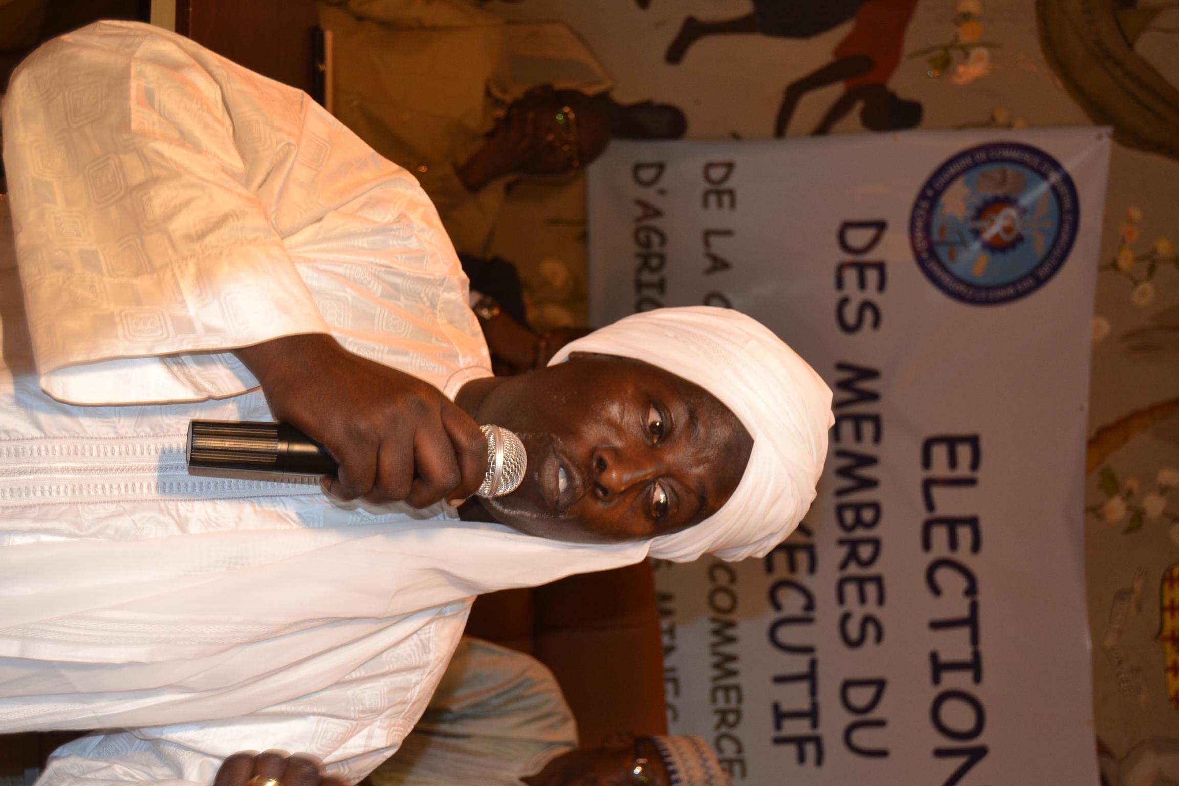 CCIAMA : Amir Adoudou Artine, un opérateur économique rompu élu à la présidence