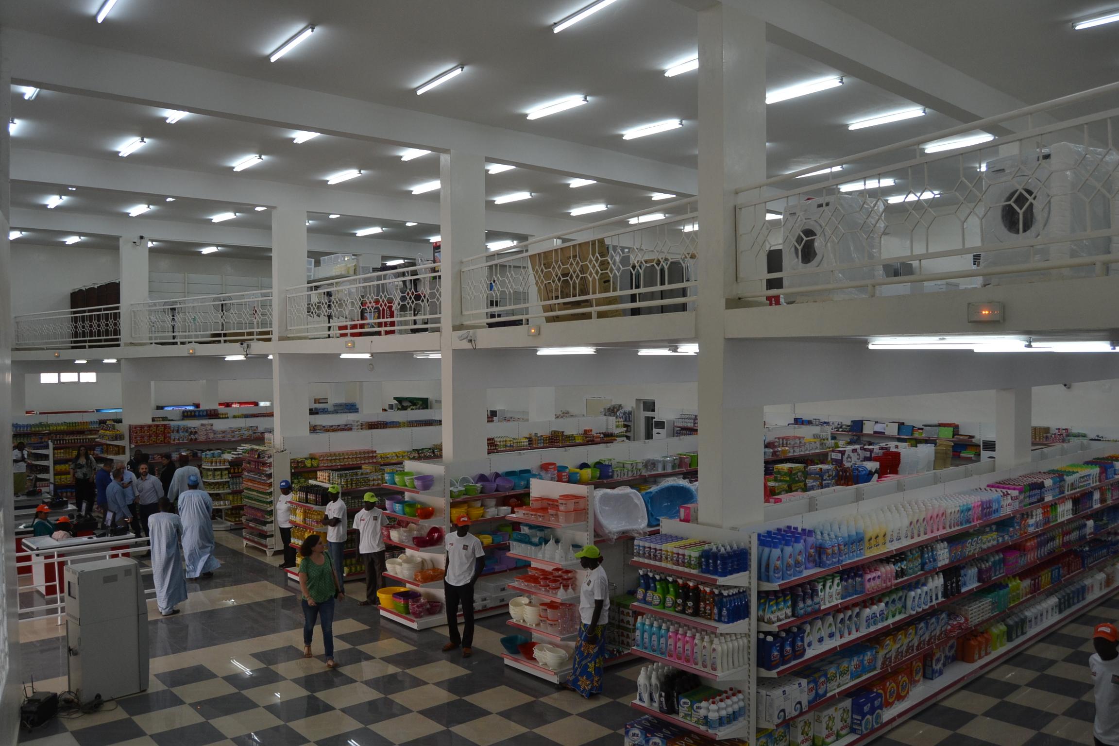 Tchad: ouverture du plus grand centre commercial dans le pays