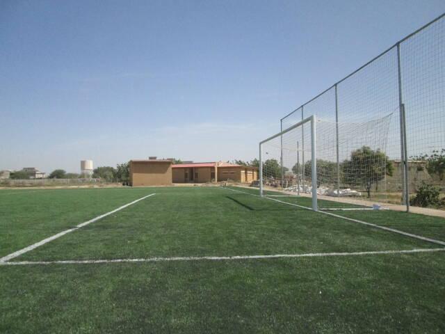 Football : La FTFA réceptionne la pelouse synthétique de l'Académie de Farcha