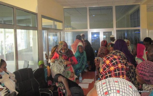 Santé : des patients se bousculent pour les soins gratuits à l'HATC