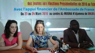 L'ambassade de France au Tchad et l'APAD forment 50 jeunes futurs observateurs électoraux