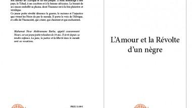 """Livre : """"L'amour et la révolte d'un nègre"""", un recueil de poèmes pour rendre hommage à la femme africaine et au peuple noir"""