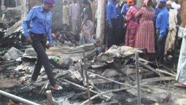 Incendie marché central de N'Djamena : des millions de francs CFA partis en fumée
