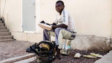 Human of N'Djamena : Djerané Jérémie, jeune cordonnier