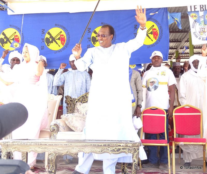 Tchad: le président réélu Déby Itno appelle ses partisans au calme et au respect de la loi