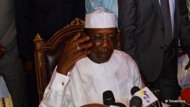 Présidentielle au Tchad : le candidat Idriss Deby Itno écarte l'éventualité d'une crise postélectorale