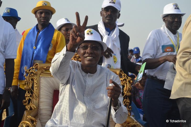 Tchad présidentielle 2016 : les résultats provisoires déclarent Idriss Deby Itno réélu avec 61,56% de voix