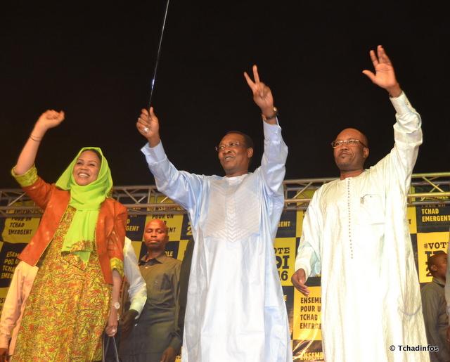 Présidentielle Tchad : le MPS célèbre sa victoire