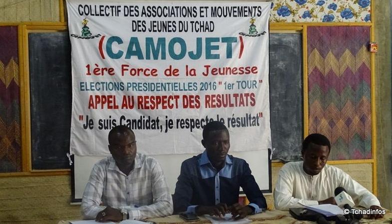 Présidentielle Tchad : le CAMOJET appelle les candidats au respect des résultats