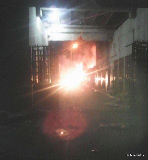Tchad : une partie du marché central de N'djamena a pris feu cette nuit