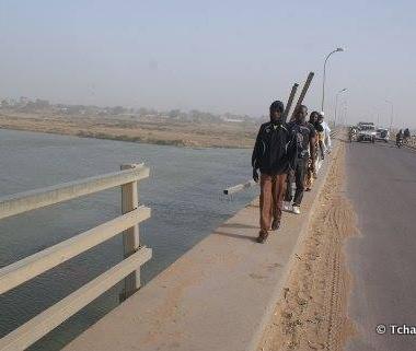 Le pont à double voies un danger permanent pour les usagers