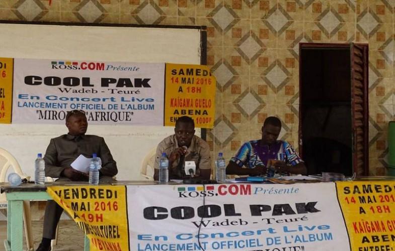 Culture : l'artiste musicien Cool Pak lance son album ''Miroir d'Afrique''