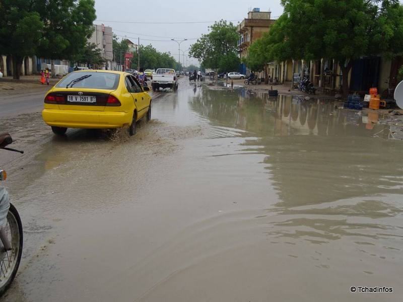 N'Djamena enregistre sa première grosse pluie