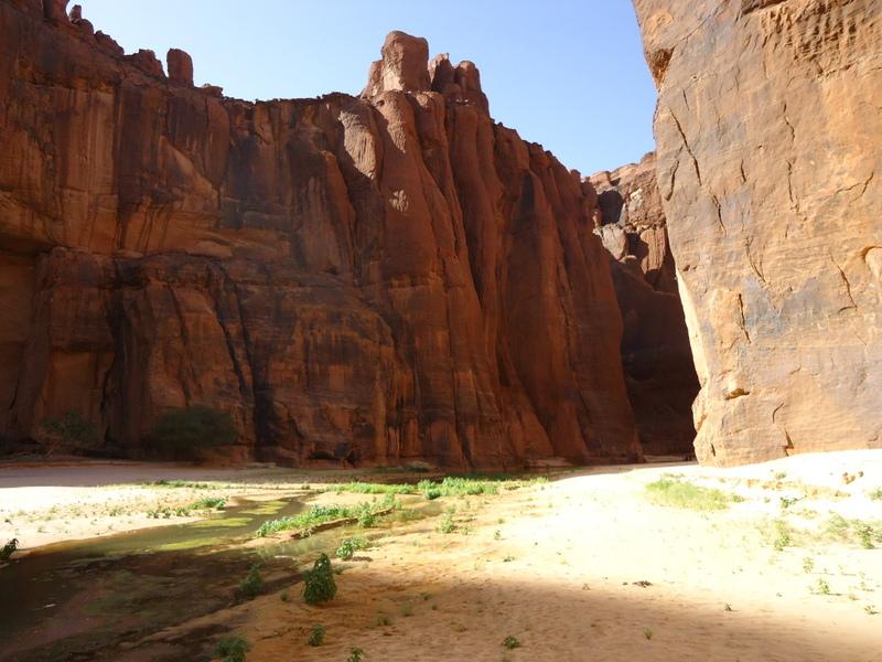 Le Massif de l'Ennedi regorge de paysages d'une incomparable beauté