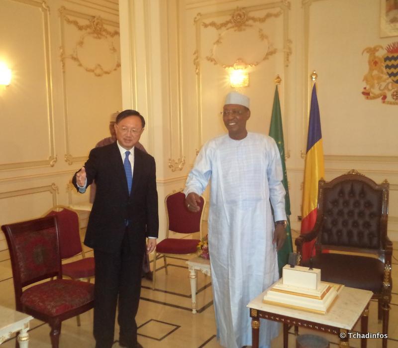 Après le Sénégal, le conseiller chinois Yang Jiechi s'entretient avec Déby