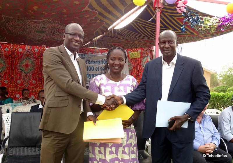 Millicom Tchad renouvelle son soutien aux orphelinats SOS Villages d'Enfants Tchad et la Fondation Dieu Bénit