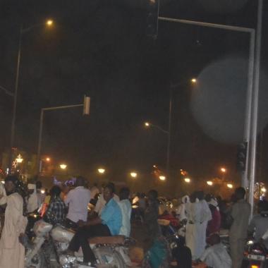 La victoire d'Idriss Déby Itno, célébrée dans le calme à N'Djaména