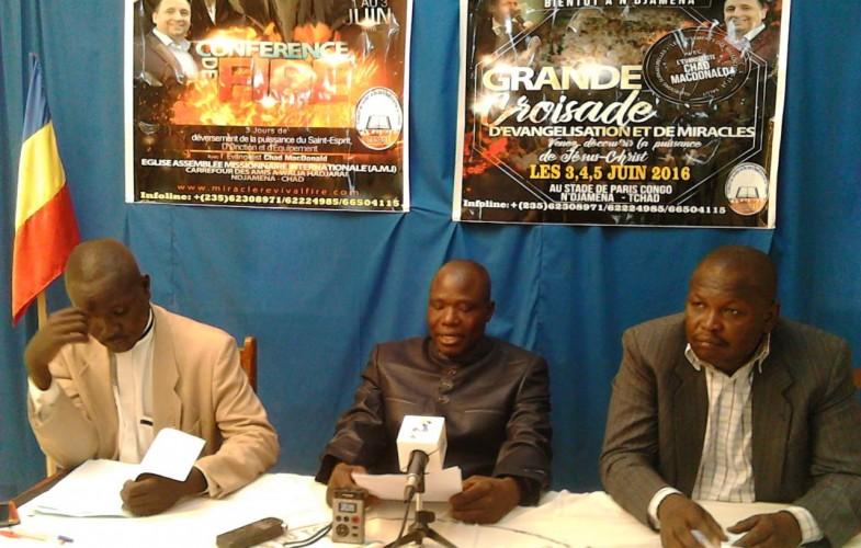 Le Tchad s'apprête à accueillir la grande conférence nationale des pasteurs pour la paix
