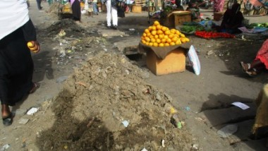 Société : la pluie source d'insalubrité dans les marchés de N'Djaména