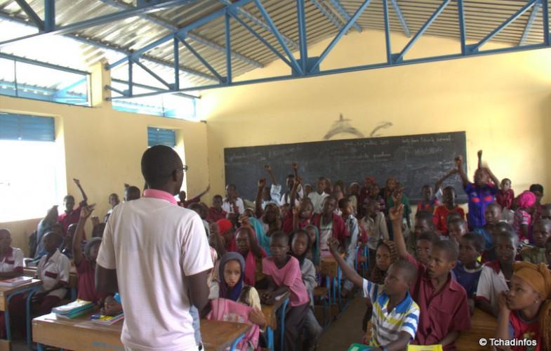 Tchad : Elèves et enseignants présents mais sans faire cours