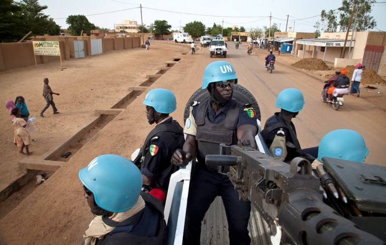 Une embuscade a coûté la vie à cinq Casques bleus au Mali