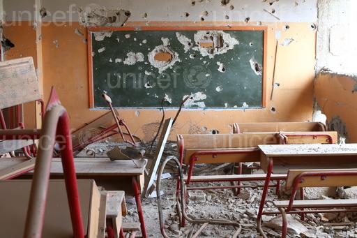 UNICEF : « Chaque jour, quatre écoles ou hôpitaux sont attaqués ou occupés »