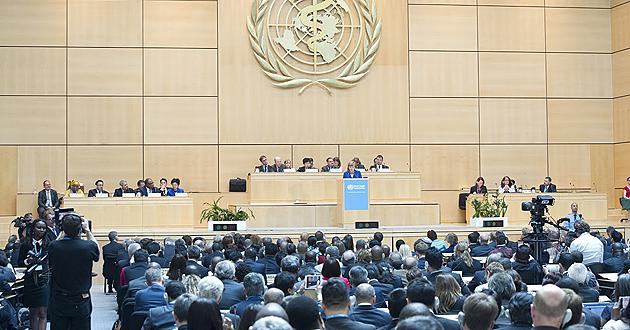 Ouverture à Genève de la 69ème Assemblée mondiale de la santé