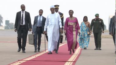 Le Président du Tchad et actuel Président de l'UA en visite au Rwanda