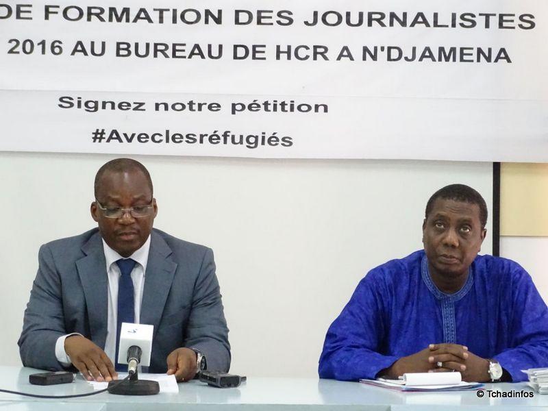 Formation : l'UNHCR recycle les journalistes tchadiens sur le cas des réfugiés