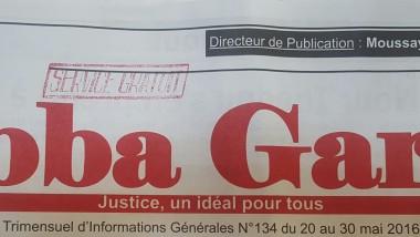 Tchad : Le journal Abba Garde est mis en demeure