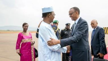 Au Rwanda Deby et Kagame ont parlé du prochain sommet de l'UA
