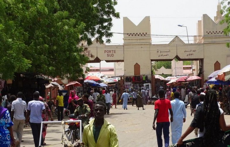 Coronavirus : la désinfection du marché central de N'Djamena, une solution ?