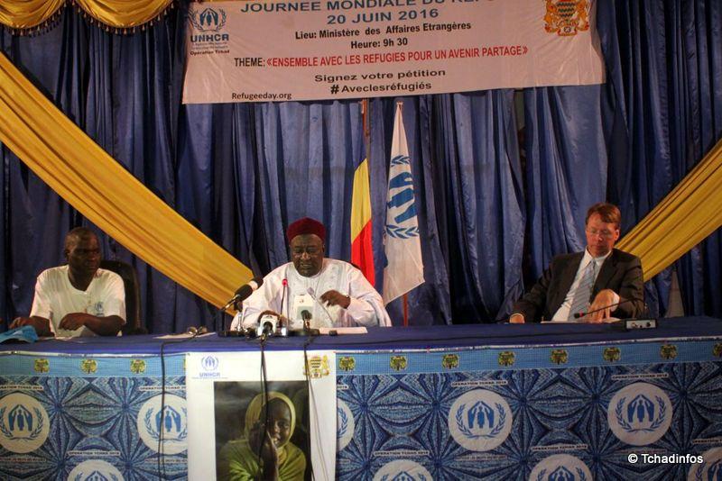 Le Tchad célèbre la Journée mondiale du réfugié