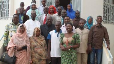 Le bureau du Syndicat des  travailleurs du ministère de l'aménagement du territoire prend fonction