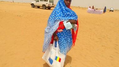 Le PAM lutte contre l'insécurité alimentaire dans la région du nord Kanem