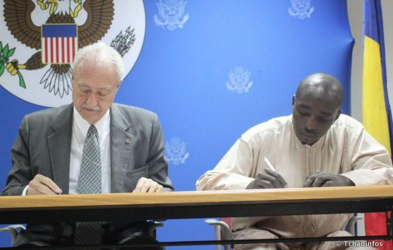 Les USA octroient 45,000$ à cinq associations et groupements tchadiens