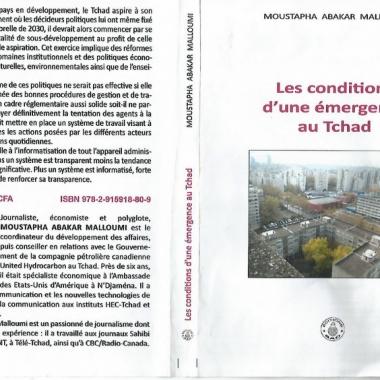 Livre : « Les conditions d'une émergence au Tchad » par Moustapha Abakar Malloumi