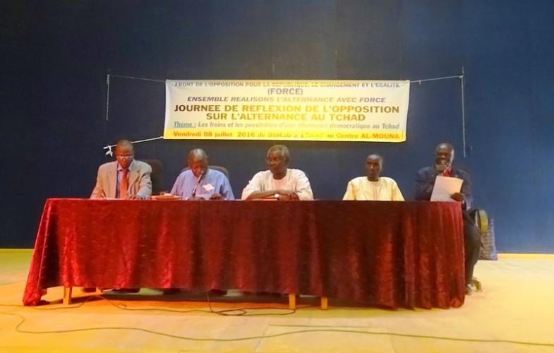L'opposition tchadienne en journée de réflexion sur l'alternance