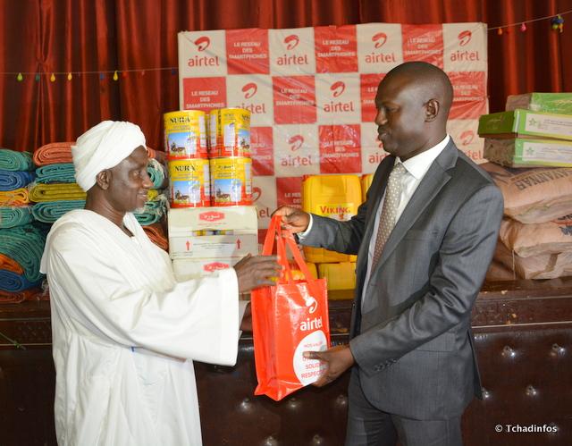 Airtel Tchad vol au secours des personnes démunies en cette période de Ramadan