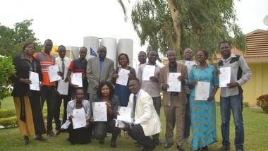 14 employés des BDT formés en audit interne dans l'optique d'améliorer la qualité de ses produits