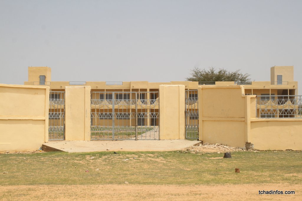 Le lycée d'Ati flambant neuve inutilisable pour risque d'effondrement