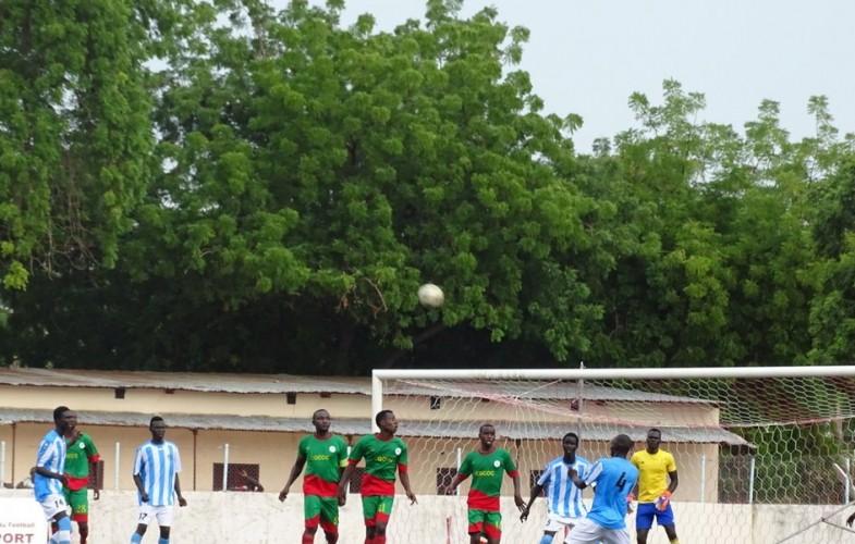 1er match de la LINAFOOT : match nul entre RFC et Foullah ED