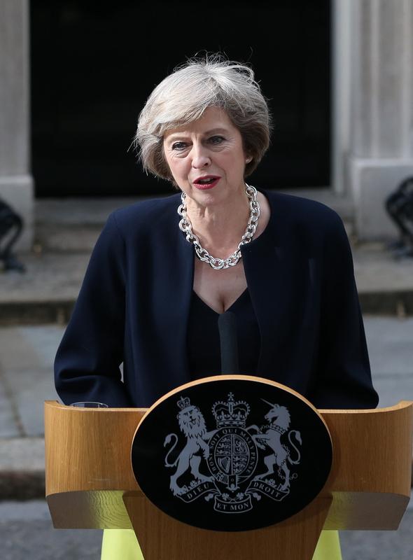 Theresa May devient Première ministre du Royaume-Uni