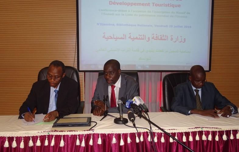 Conférence débat autour de l'inscription du massif de l'Ennedi au Patrimoine Mondial