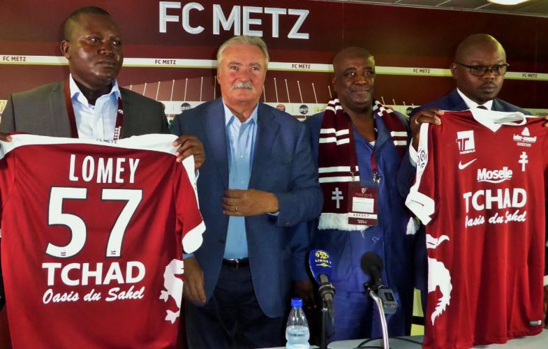Le Tchad devient sponsor officiel du FC Metz pour 3 ans