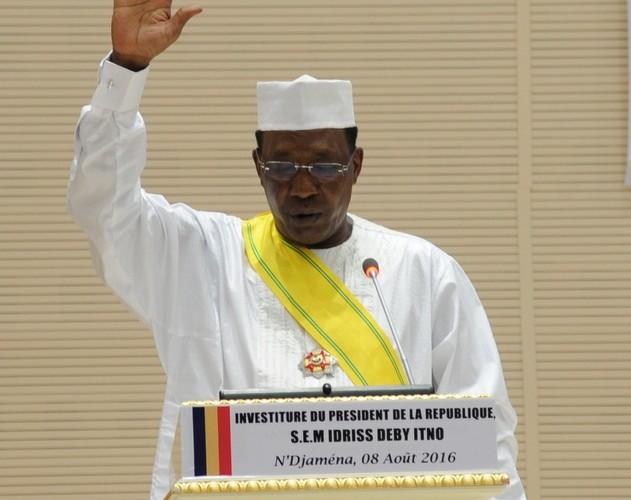 Tchad : le président Idriss Deby Itno investi pour un 5ème mandat