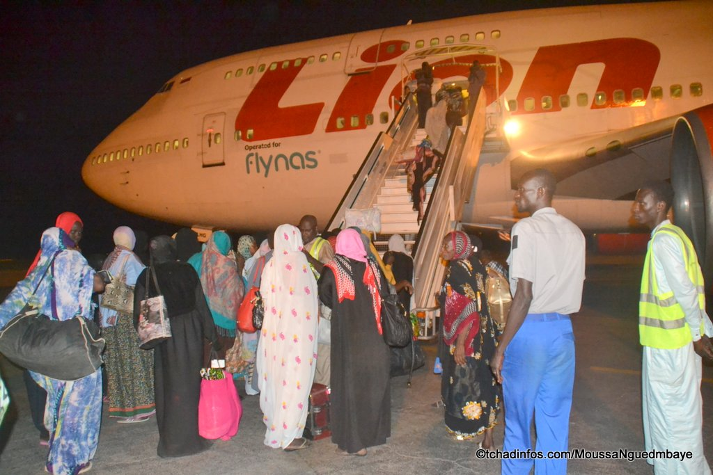 Tchad/pèlerinage : les passagers tchadiens bloqués à Djeddah sont à Addis Abeba