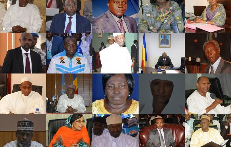 Tchad : Trombinoscope du nouveau gouvernement
