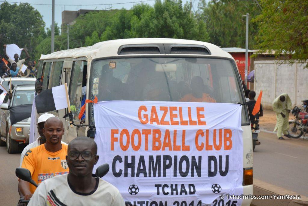 Sport: Gazelle a célébré son sacre de champion 2014 – 2015